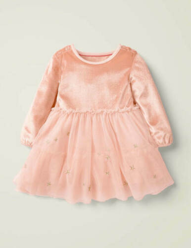 BABY BODEN GIRLS PRETTY FAIRY WINGS TULLE PARTY DRESS PINK OR BLUE BNWOT