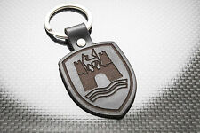 VW WOLFSBURG Leather Keyring, Keychain, Schlüsselring, Porte-clés. GOLF POLO GTI