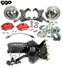 73 87 C10 Gmc Truck D52 Wilwood Booster Disc Brake Conversion Kit Drop Spindle