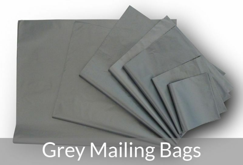 Strong Grey Postal Poly Postage Mailing Bag Self Seal All Sizes