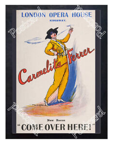 Historic-Carmelita-Ferrer-At-The-London-Opera-House-1900s-Advertising-Postcard