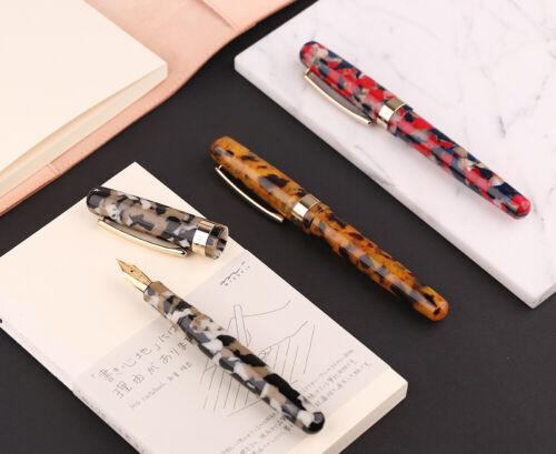 New Launched Moonman M300 Acrylic Fountain Pen Set Schmidt Iridium Fine Nib