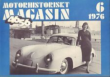 Motorhistoriskt Magasin Swedish Car Magazine 6 1976 Pierce-Arrow 032717nonDBE