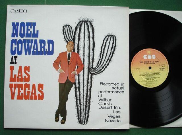 Noel Coward At Las Vegas inc Mad Dogs and Englishmen / + CBS 32667 LP