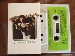 GARY-GLITTER-REMEMBER-ME-THIS-WAY-Rare-1974-Australian-Cassette-GLAM-ROCK