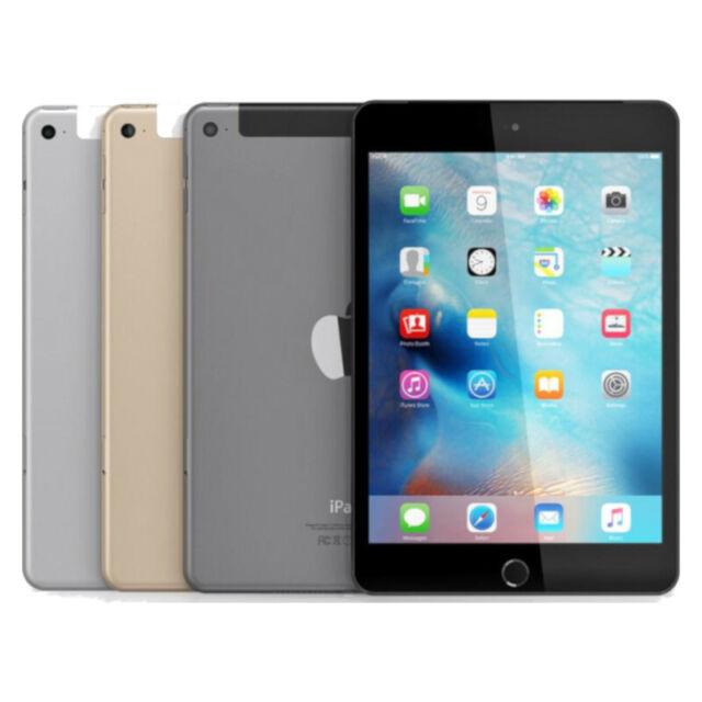 Apple iPad Mini 1st Gen Black Gray White 16GB Wi-Fi or 4G Cellular 7.9in