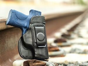 FITS M/&P®9c COMPACT LEATHER CONCEALED IWB HOLSTER ***100/% MADE IN U.S.A.***