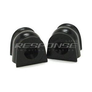 Energy Suspension 16.5138G Rear Sway Bar Bushings Set Black Fits 04-08 Acura TSX