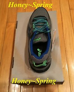ad79353f9d7 Details about Men's Asics Gel-Sonoma 2 Running Shoes Gray Blue Size 8.5  T634N, New in Box