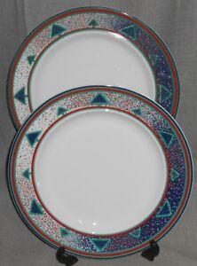 Image is loading Set-2-Dansk-WINTERFEST-PATTERN-Dinner-Plates-CHRISTMAS- & Set (2) Dansk WINTERFEST PATTERN Dinner Plates CHRISTMAS - HOLIDAY ...