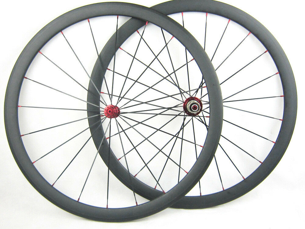 Carbon Wheelset 38mm Depth Clincher Carbon Road Bike Bicycle Wheels