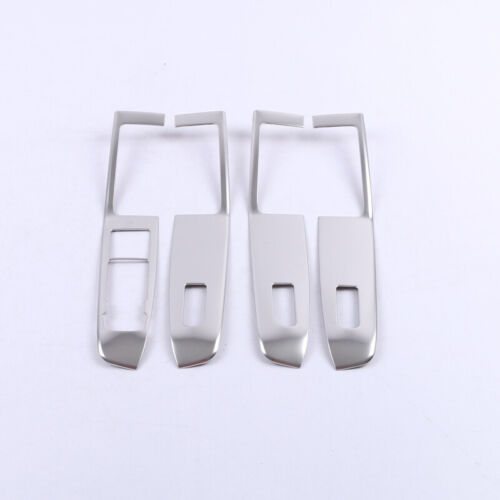 For Ford Escape Kuga 2020 Steel Matte Armrest Window Lift Switch Cover Trim LHD