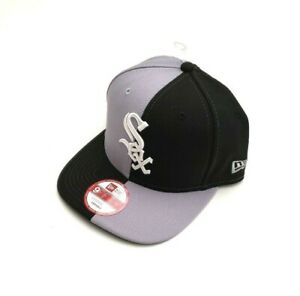 low priced 7bf6e 42fd9 Image is loading New-Era-Chicago-White-Sox-9Fifty-Double-Split-