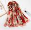 Indexbild 19 - Glanz Schal 180x90cm lang Seide Optik Designer Halstuch Tuch Luxus elegant Damen