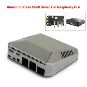Multifonction-Aluminium-Case-shell-cover-pour-Raspberry-Pi-4-Modele-B-ventilateur-de-refroidissement