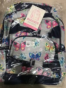 Pottery Barn Kids Mackenzie 6 Pc Gray Rainbow Butterfly