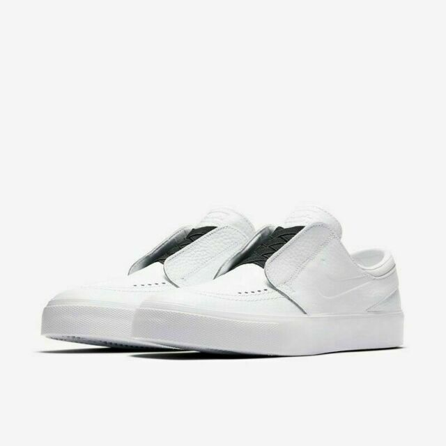new arrival f4e84 41f92 Nike SB Zoom Janoski HT Slip Men s Skateboarding Shoes AH3369 100 White NIB   90