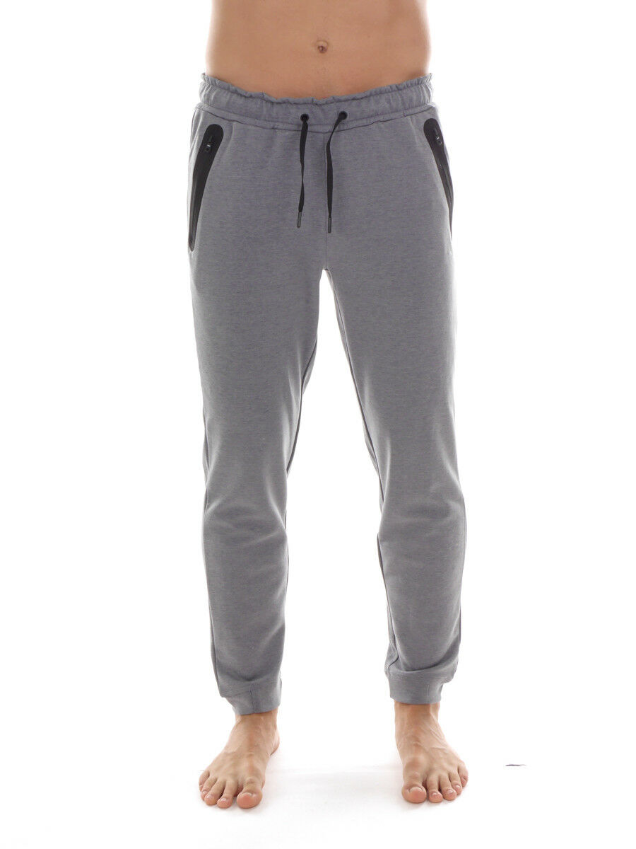 CMP Pants or Casual Trousers Sweat Pants Grey Drawstring Stretch Breathable