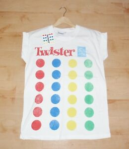 BNWT-Primark-womens-TWISTER-white-t-shirts-various-sizes