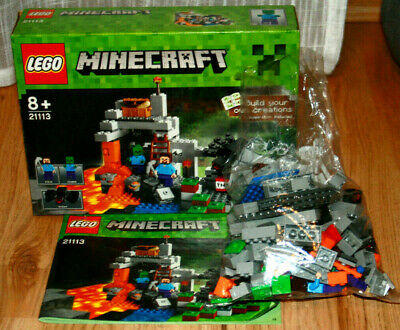 NEU LEGO® Minecraft® 21113 Die Höhle NEU /& OVP Steve Zombie Spinne