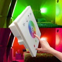 12-24V RGBW Full Color Dimmer Touch Panel Controller For RGB RGBW LED Strip YS