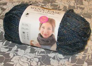 NEW-LION-BRAND-WOOL-EASE-Spruce-Teal-Blue-Green-Yarn-Acrylic-Wool-283-g-Turkey