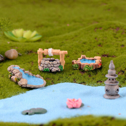 DIY resin mini miniature fairy garden ornament craft house decor accessories GAB