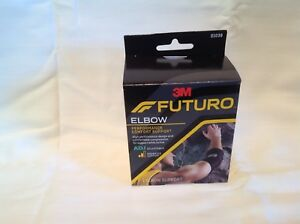 22857f29c6 Image is loading FUTURO-Infinity-Precision-Fit-Elbow-Support-Adjustable