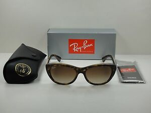 056c14712c AUTHENTIC RAY-BAN SUNGLASSES RB4227 710 13 TORTOISE BROWN GRADIENT ...