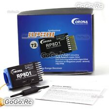 Corona RP8D1 8ch 72MHz Dual Conversion Receiver For FUTABA JR Receiver TX