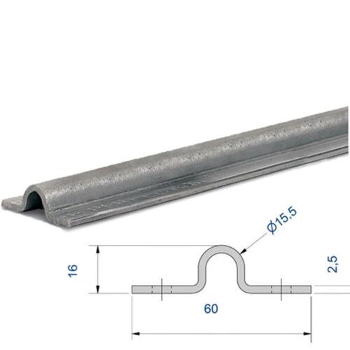 flache Laufschiene Torantrieb Schiebetor Stahl bodengeführt zum aufschrauben