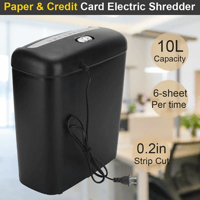 Texet Straight Cut 10L Shredder