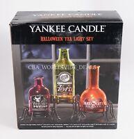 Yankee Candle Halloween Tea Light Wine Bottle Set
