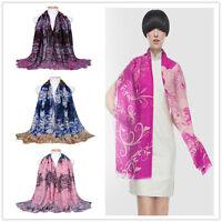 NEW Long Winter Women Wrap Scarf Shawl Pashmina Large Stole Soft Warm 180X90CM