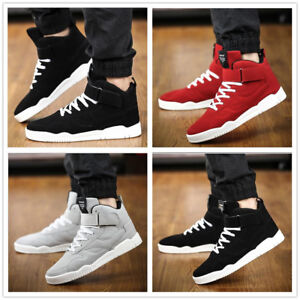 Men-039-s-High-Top-Athletic-Sneakers-Sports-Running-Trainers-Casual-Walking-Shoes
