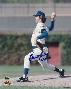 Bruce Sutter Chicago Cubs Autographed 8x10 Baseball Photo CAS COA With HOF 06