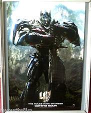 Cinema Poster: TRANSFORMERS AGE OF EXTINCTION 2014 (Optimus Prime One Sheet)