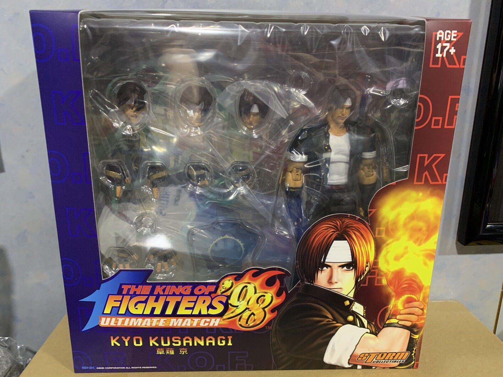(en Stock) tormenta Coleccionables King Of Fighters Kyo Kusanagi