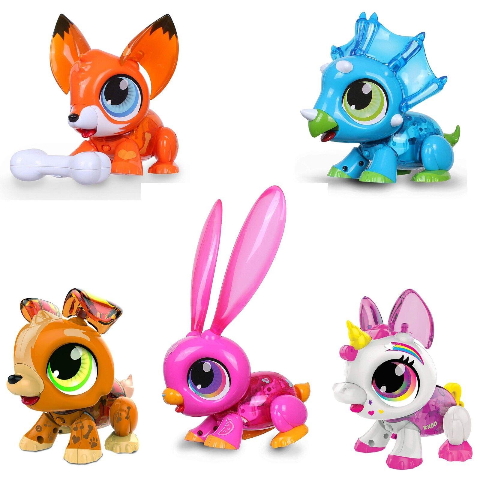 Build a Bot - Build a Robot Pet - Bunny, Fox, Unicorn, Puppy or Dino NEW 2018