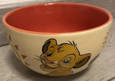 BOL Bowl PORTRAIT SIMBA Disneyland Paris