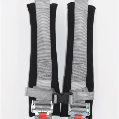 Pair of 5 Point Harness Polaris RZR 800 Silver