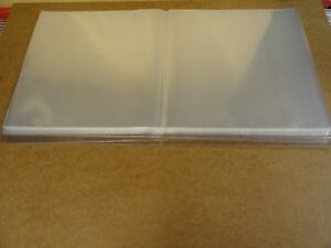 50-CRYSTAL-CLEAR-PLASTIC-LP-SLEEVES-FOR-DOUBLE-ALBUMS