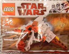 LEGO STAR WARS MINI SETS 30050 30053 REPUBLIC ATTACK CRUISER & SHUTTLE NEW RARE