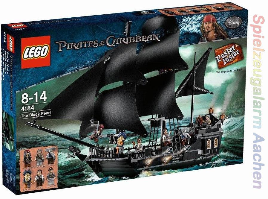 NUOVO Exclusiv LEGO 4184 Pirati dei caraibi la perla nera BNISB