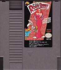 WHO FRAMED ROGER RABBIT CLASSIC SYSTEM GAME NINTENDO NES HQ