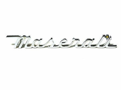sigla stemma scritta MASERATI INDY 4700 195mm sign badge emblem logo escudo