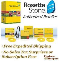 Rosetta Stone Russian Level 1 Homeschool + Headset + Audio Companion Brand