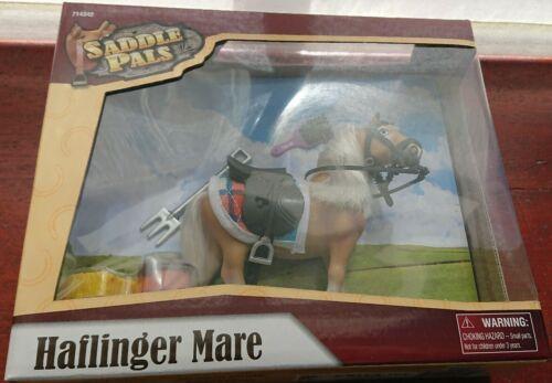Selle Pals Haflinger Mare Toy Set Chevaux Jeu avec Tack Cheval Jouet Poneys Jouet
