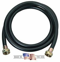 Washing Machine Hose Black Rubber, 12 Foot, Made In The Usa, New, Free Shipping on Sale