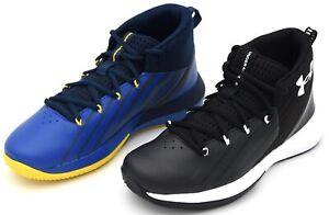 Details about Under Armour Junior Child Shoe Sneaker Sports Basketball UA BGS Lockdown 3 show original title